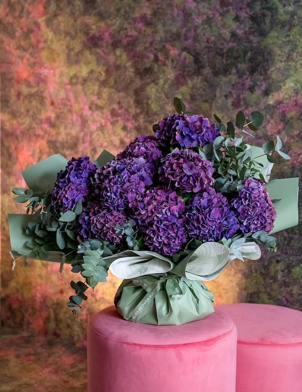 BLISS-FLOWER-BOUQUET-SUGAR-CORAL-HYDRANGEA-5